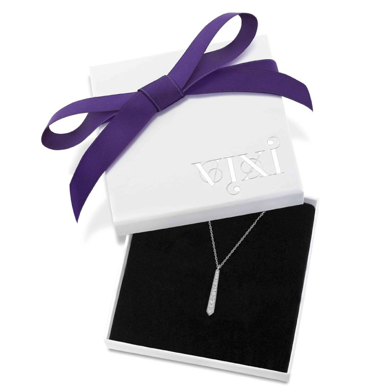 Vixi Jewellery | Sterling Silver Designer Jewellery | Sunbeam pendant in box