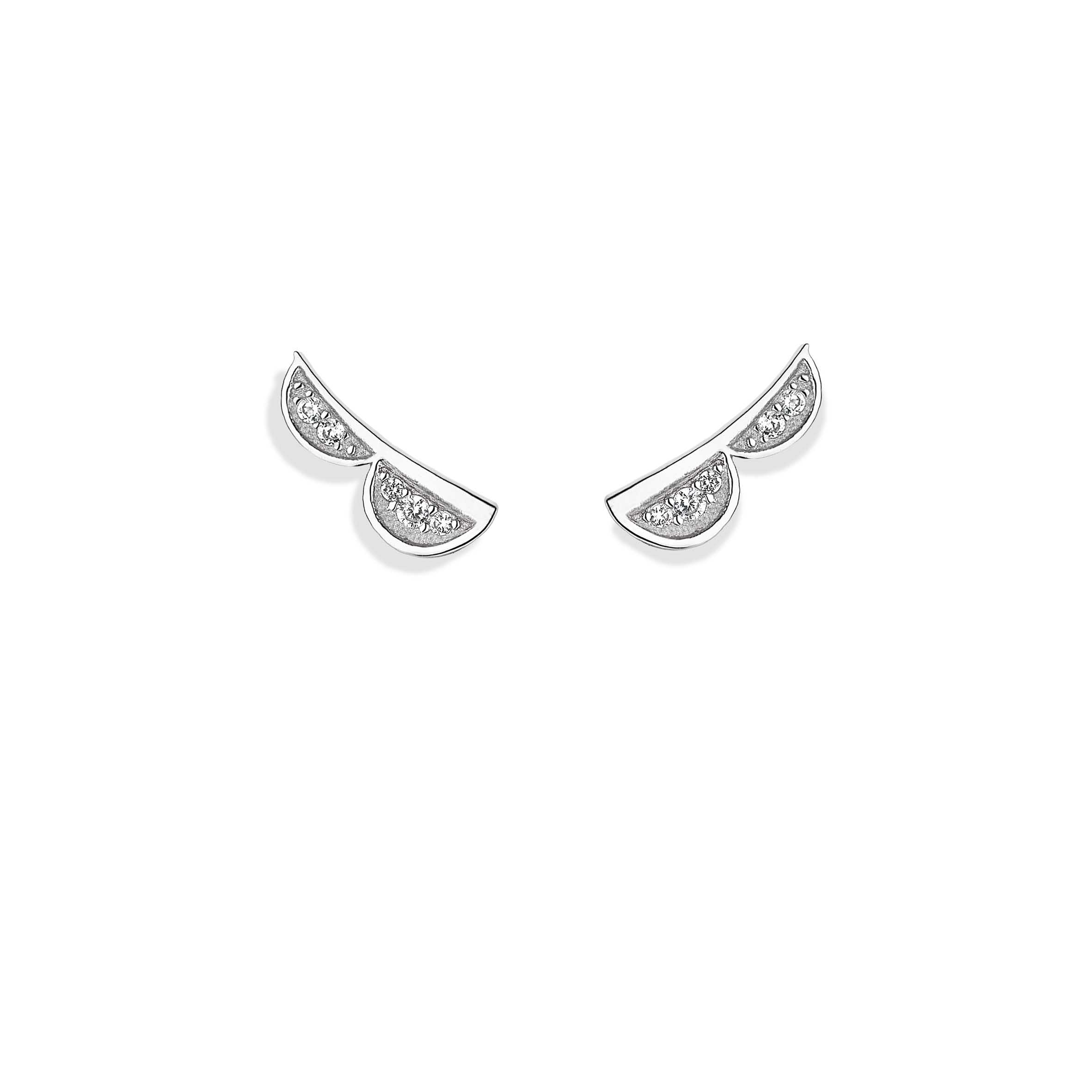 Vixi Jewellery | Sterling Silver Designer Jewellery | Lace Studs