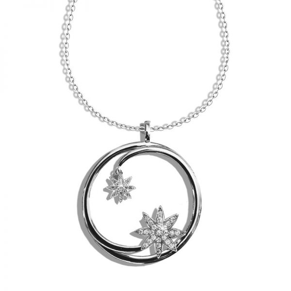 Vixi Jewellery | Sterling Silver Designer Jewellery | Nova Necklace