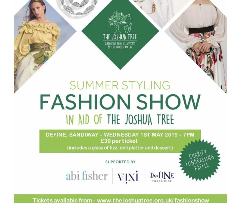 Joshua Tree Charity Fashion Show with VIXI
