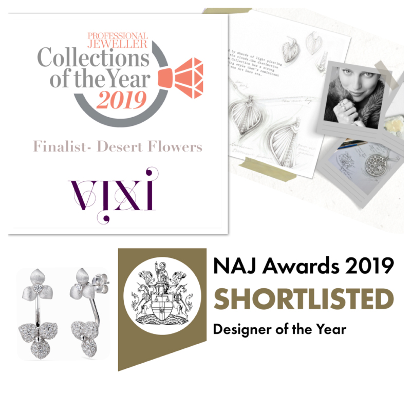 Vixi Jewellery | Sterling Silver Designer Jewellery | New Awards