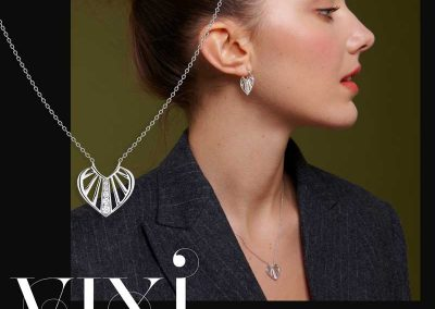 Vixi Jewellery | Designer Jewellery | Necklace and Earrings