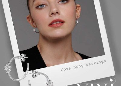 Vixi Jewellery | Designer Jewellery | Hoop Earrings