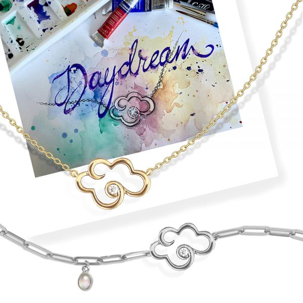 Silver & Gold Daydream Jewellery Collection from Vixi Designs